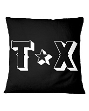 Texas Abbreviation Square Pillowcase thumbnail