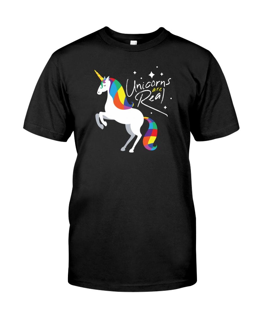 Unicorns Are Real Classic T-Shirt