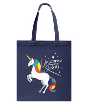 Unicorns Are Real Tote Bag back