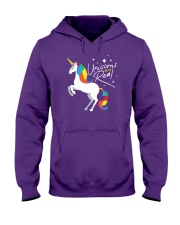 Unicorns Are Real Hooded Sweatshirt thumbnail