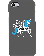 Born to be a Unicorn Phone Case tile