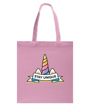 Stay Unique Tote Bag thumbnail