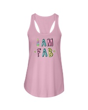 I Am Fab Ladies Flowy Tank thumbnail