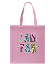 I Am Fab Tote Bag thumbnail