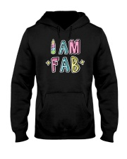 I Am Fab Hooded Sweatshirt tile