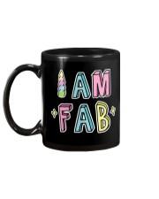 I Am Fab Mug back