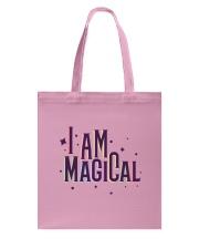 I Am Magical Tote Bag back