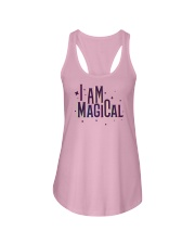 I Am Magical Ladies Flowy Tank tile