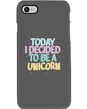 I Decided to be a Unicorn Phone Case thumbnail