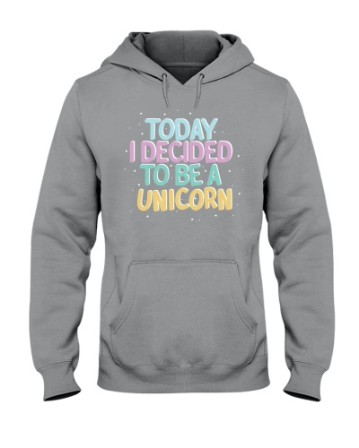 I Decided to be a Unicorn