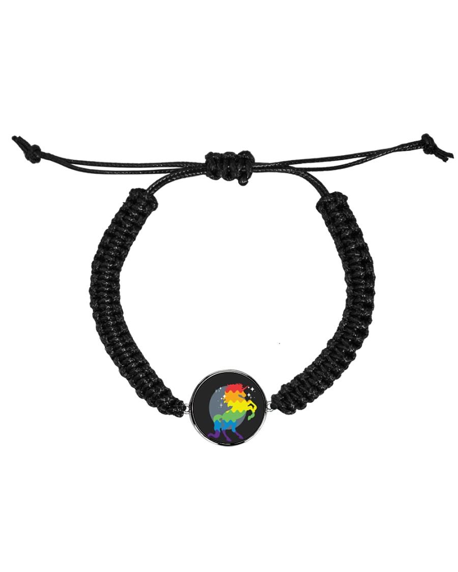 All those Unicorns Cord Circle Bracelet