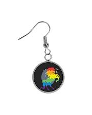 All those Unicorns Circle Earrings thumbnail