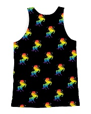 All those Unicorns All-over Unisex Tank back
