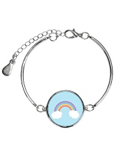 Rainbows Metallic Circle Bracelet thumbnail