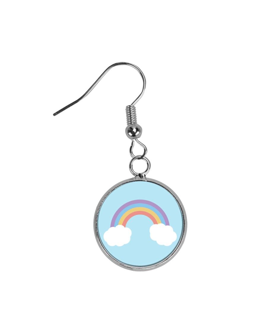 Rainbows Circle Earrings