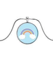 Rainbows Metallic Circle Necklace thumbnail