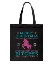 Merry Christmas Bitches Tote Bag thumbnail