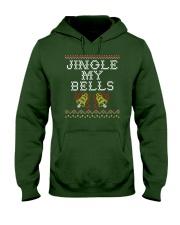 Jingle My Bells Hooded Sweatshirt front