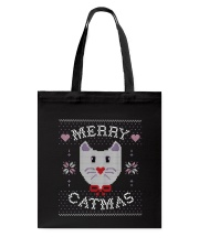 Merry Catmas Tote Bag tile