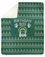 "Birthday Boy Sherpa Fleece Blanket - 50"" x 60"" thumbnail"