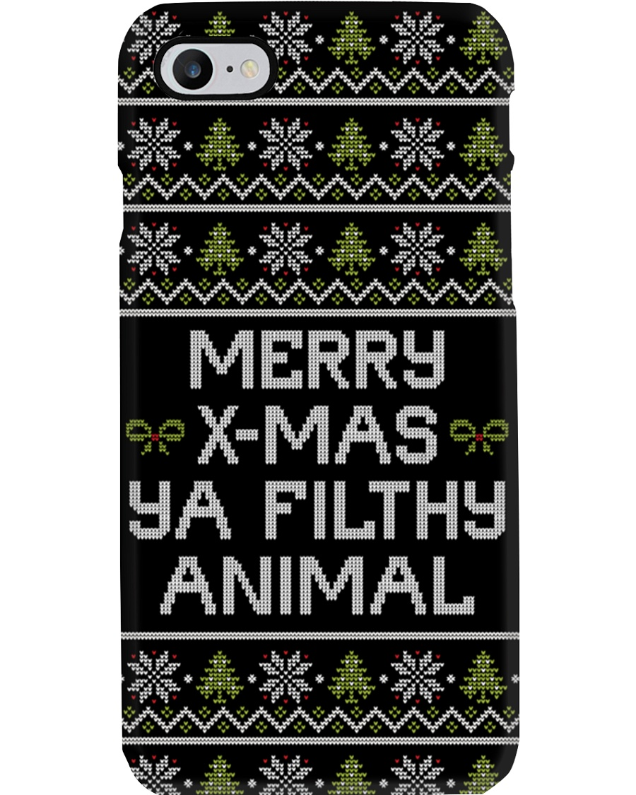 Merry Christmas Ya Filthy Animal Phone Case