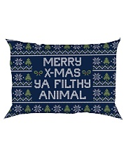 Merry Christmas Ya Filthy Animal Rectangular Pillowcase thumbnail