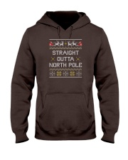 Straight Outta North Pole Hooded Sweatshirt thumbnail