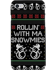 Rollin' With Ma Snowmies Phone Case thumbnail