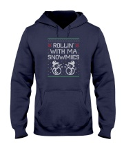 Rollin' With Ma Snowmies Hooded Sweatshirt thumbnail