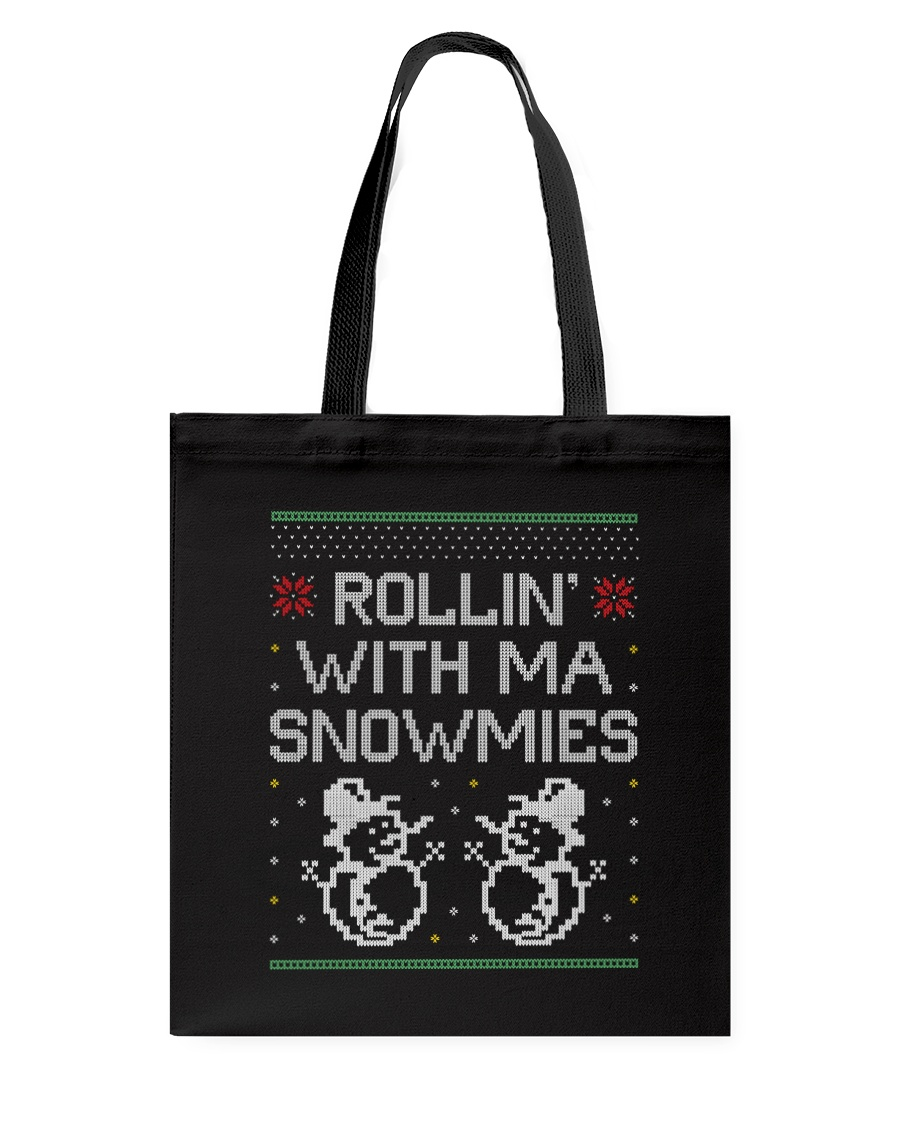 Rollin' With Ma Snowmies Tote Bag