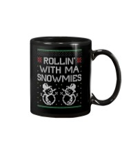 Rollin' With Ma Snowmies Mug thumbnail