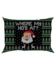 Where My Ho's At Rectangular Pillowcase back
