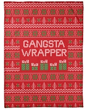 "Gangsta Wrapper Large Fleece Blanket - 60"" x 80"" thumbnail"