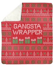 "Gangsta Wrapper Sherpa Fleece Blanket - 50"" x 60"" thumbnail"