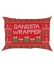 Gangsta Wrapper Rectangular Pillowcase thumbnail