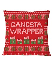 Gangsta Wrapper Square Pillowcase back