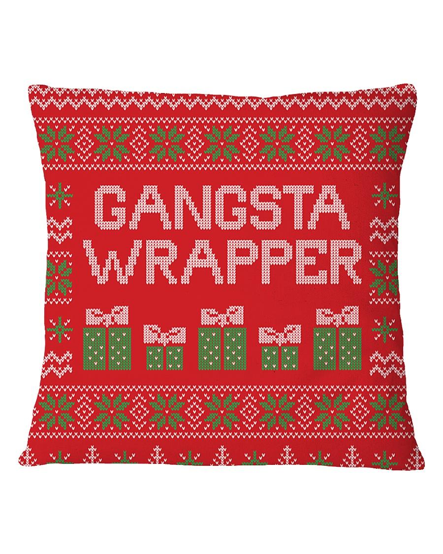 Gangsta Wrapper Square Pillowcase