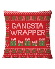 Gangsta Wrapper Square Pillowcase thumbnail