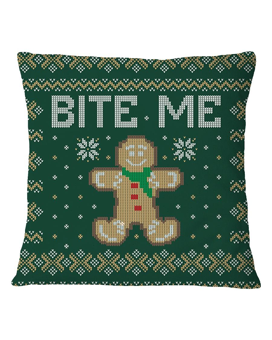 Bite Me Square Pillowcase