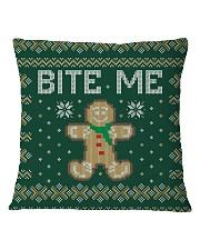 Bite Me Square Pillowcase thumbnail