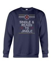 Single And Ready To Jingle Crewneck Sweatshirt front