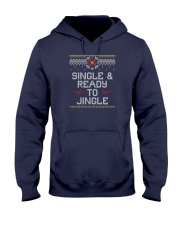Single And Ready To Jingle Hooded Sweatshirt thumbnail