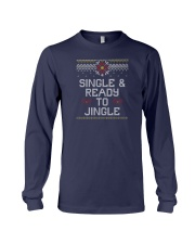 Single And Ready To Jingle Long Sleeve Tee thumbnail