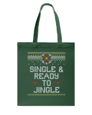 Single And Ready To Jingle Tote Bag thumbnail