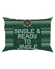 Single And Ready To Jingle Rectangular Pillowcase thumbnail