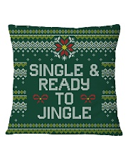Single And Ready To Jingle Square Pillowcase thumbnail