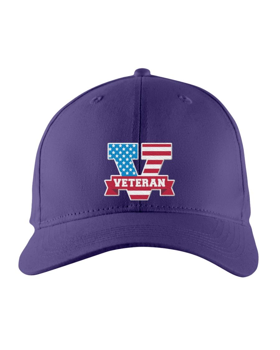V For Veterans Embroidered Hat