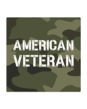Proud American Veteran Square Coaster thumbnail