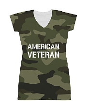 Proud American Veteran All-over Dress thumbnail