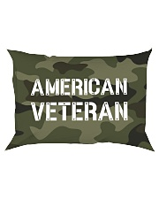 Proud American Veteran Rectangular Pillowcase tile
